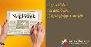 11 sposobów na nagłówki przyciągające uwagę czytelnika