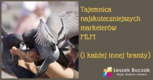Tajemnica najskuteczniejszych marketerów branży MLM