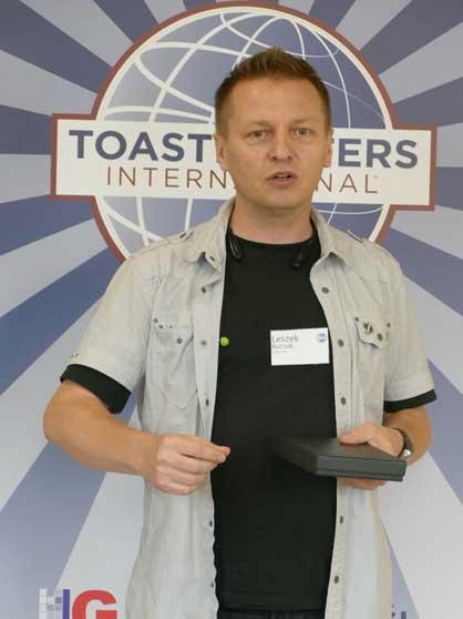 Leszek Buczak Toastmaster