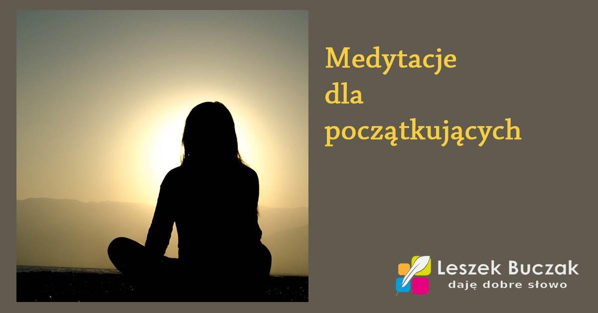 Medytacje dla początkujących