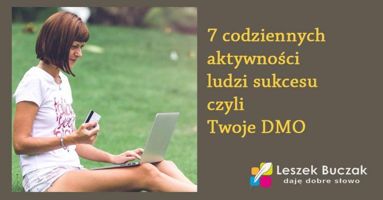 7 aktywności ludzi sukcesu